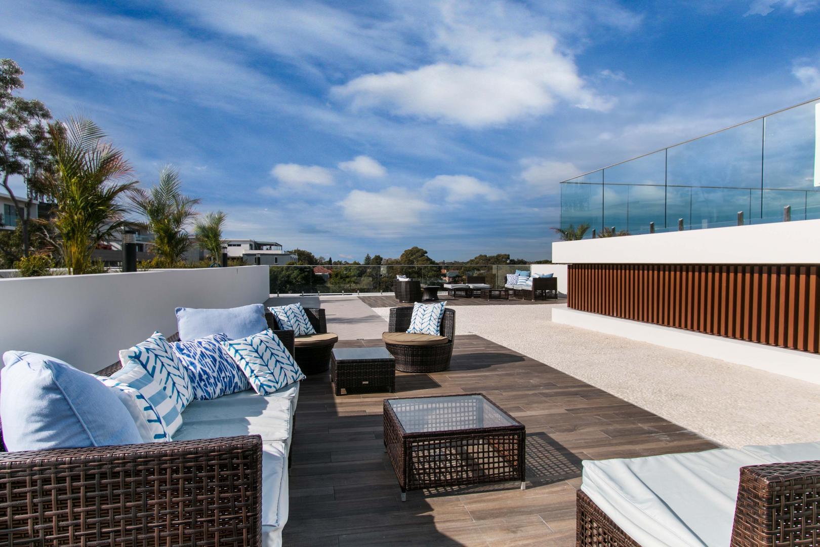 toiture plate pour une maison moderne